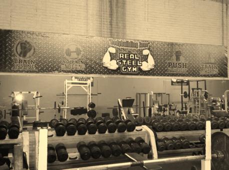 Real steel gym dallas tx 75233